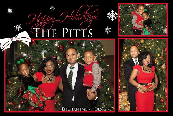 The Pitt's Holiday Photos
