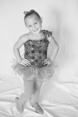 Gabby Dance (b&w) 7.27.13