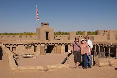 Bent's Fort on the Arkansas River--- head East to Broken Arrow