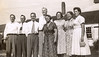1955-08 Sanborn Reunion with enrtire family