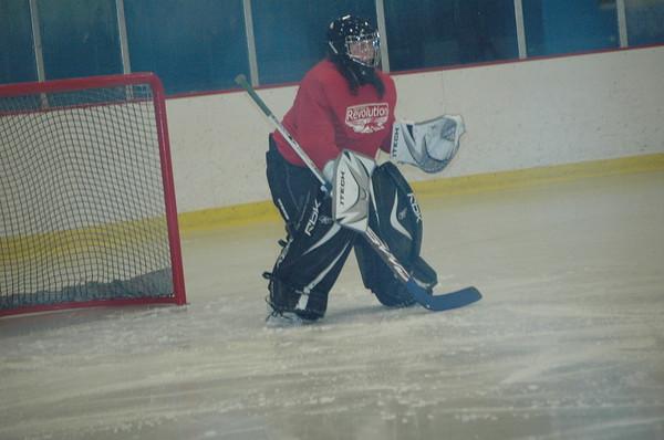 Hockey Playoffs 2009 and Softball Game Hayley