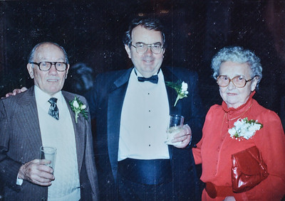 Taita and parents, c. 1985