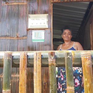 Maragarita, new owner of the Taita House