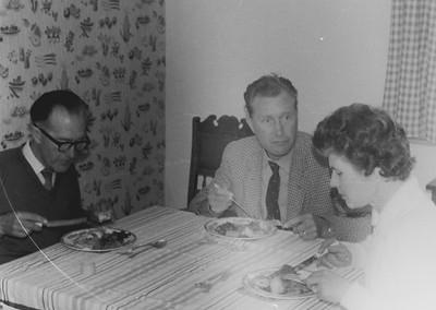 Grandpa (Harold) Web  Uncle Derek Web &  Auntie Myra Webb