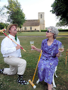 J.W. and LAdy Eleanor share an intense memory of new found money