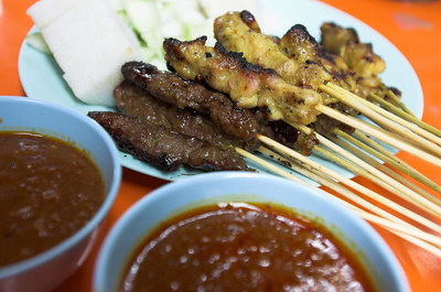 The new Singapore Satay Club