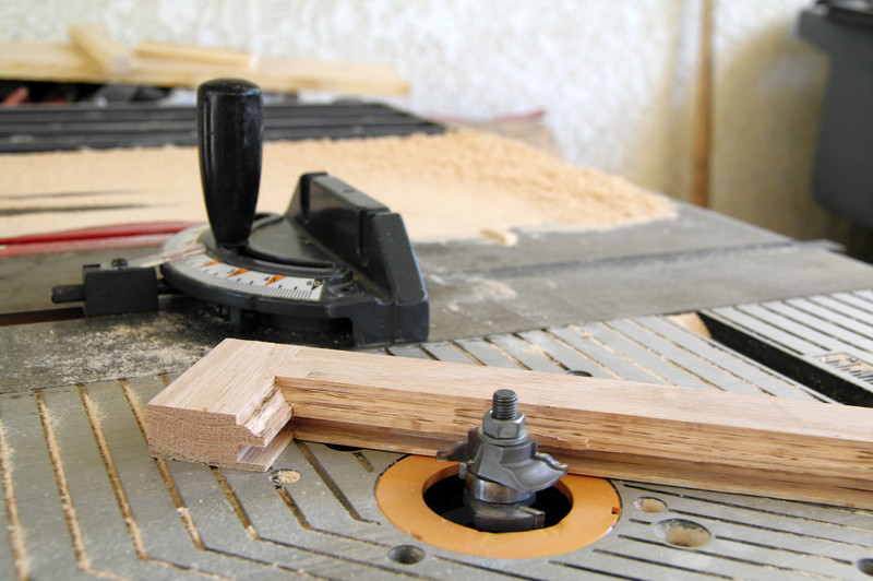 How you make a seamless joint--a cabinet bit.
