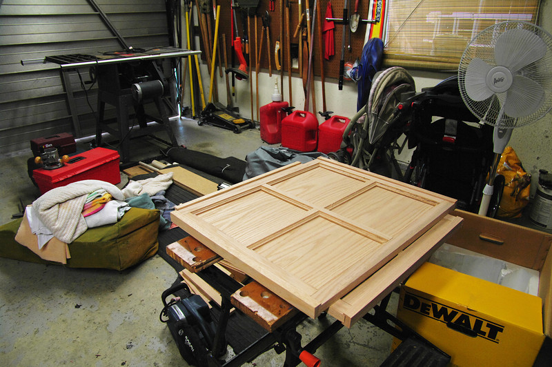 (2) panels; all cut to size and shape and awaiting sanding and glue to hold them together.  About 6 ½ hours worth of cutting and shaping to make these two panels.