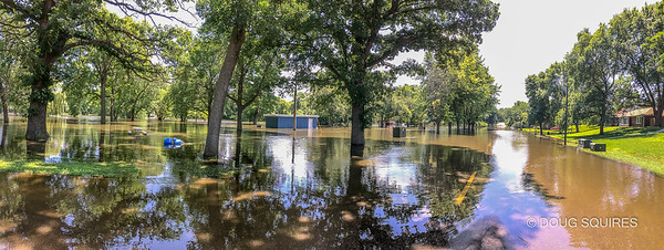Flood in Estherville