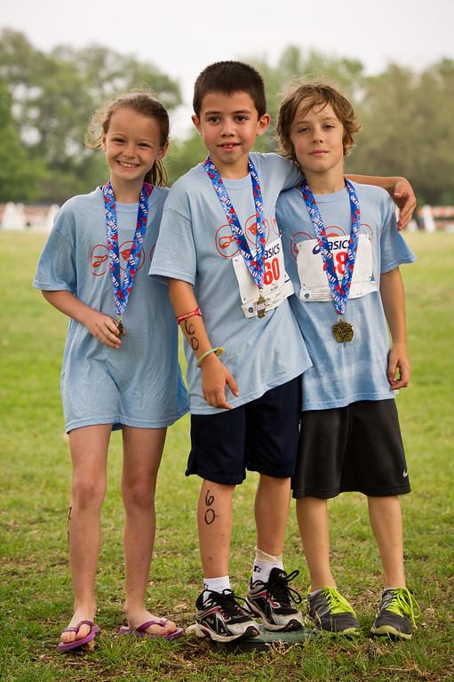 Third grade Triathlon - May 2011