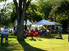Friday night Farmer's Market in Clearlake.  It was particularly lovely evening at the end of a hot day... the cooling breeze coming off the lake made Redbud Park the perfect place to be!