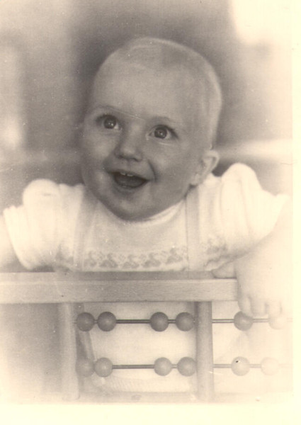 Little me in 1958 (2 years old)