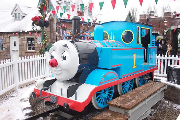 Thomas Land Christmas 2014