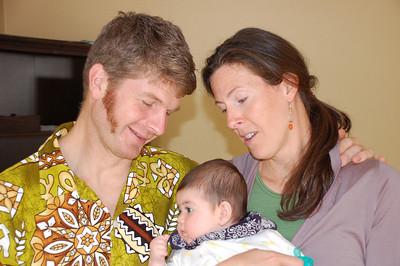 marijo and paul adoring hannah