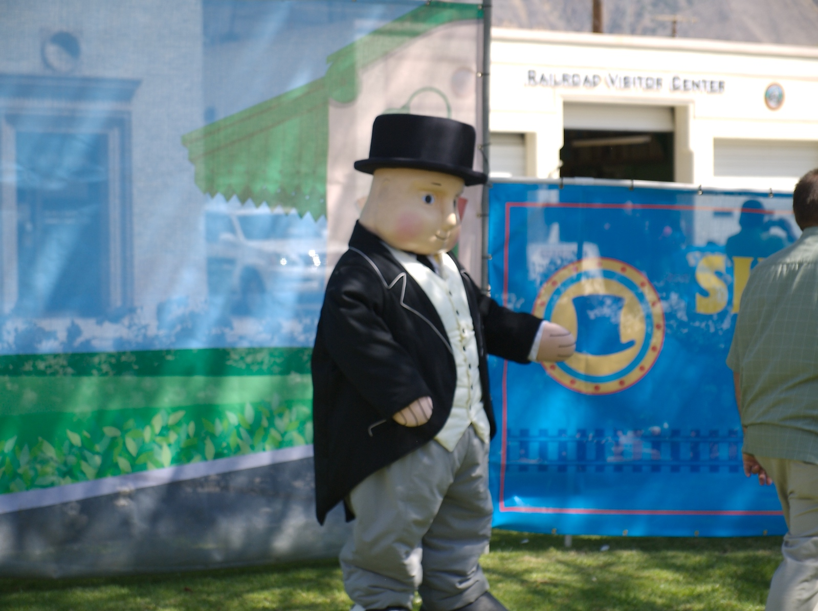 Here is Sir Topham Hatt from Thomas the Train. 4/21