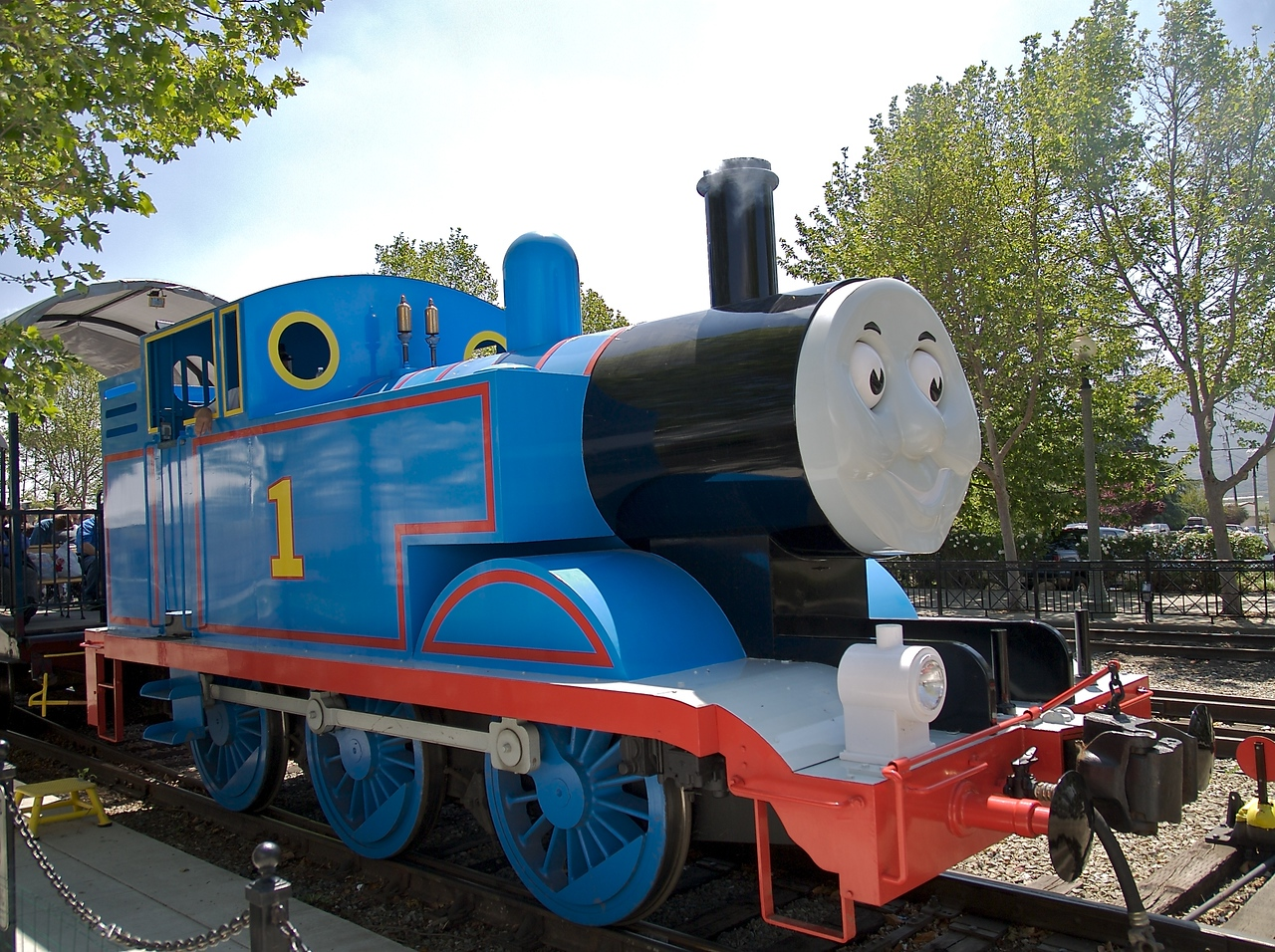 Here is a close up of Thomas.