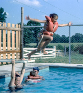 Patty-off-diving-board