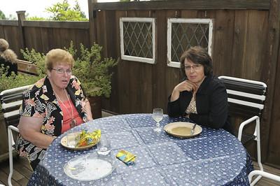 Judy Thomson and Nancy Edmonds