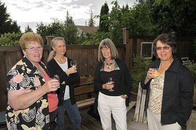 Judy Thomson, Wedy Edmonds, Manon (sp?) and Nancy Edmonds