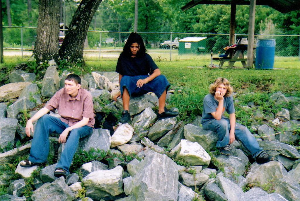 2005 Sopchoppy Fl. Family Reunion. Josh Metcalf, Drack (Bernard) Young and Nick Brower.