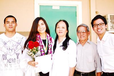 Thuan and Friends' HS Graduation
