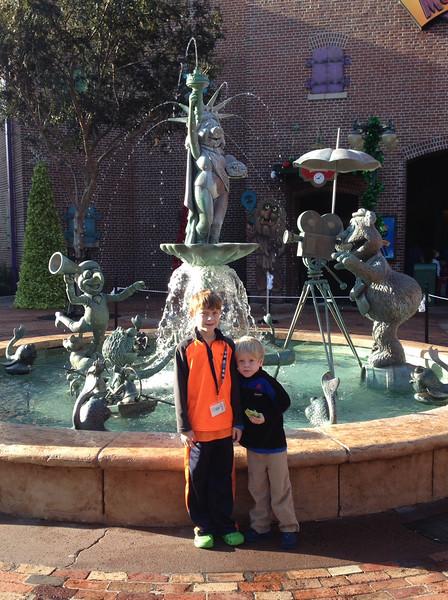 Thurman Christmas 2014 Disney