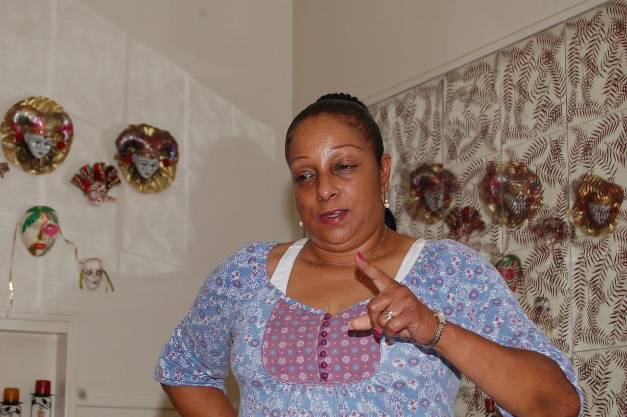 Melissa Fortino, Tianna's mom.