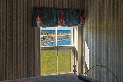 Upstairs bedroom window