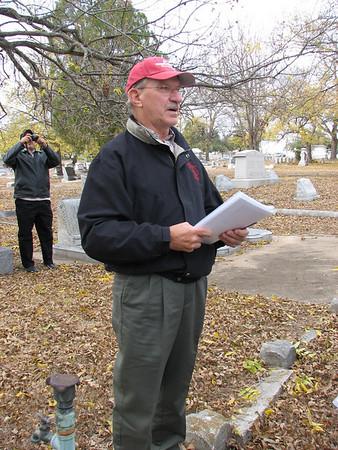 Tieman Cemetery Tour
