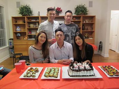 Tienman Birthday Party 5 April 2015