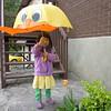 Tiffany & her favorite umbrella