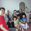 Tiffany with Great Grandma,  uncle Dennis, auntie Etty, cousins Ingo and Gavin,  and Grandpa too.