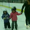 Video of Tiffany at skating class.