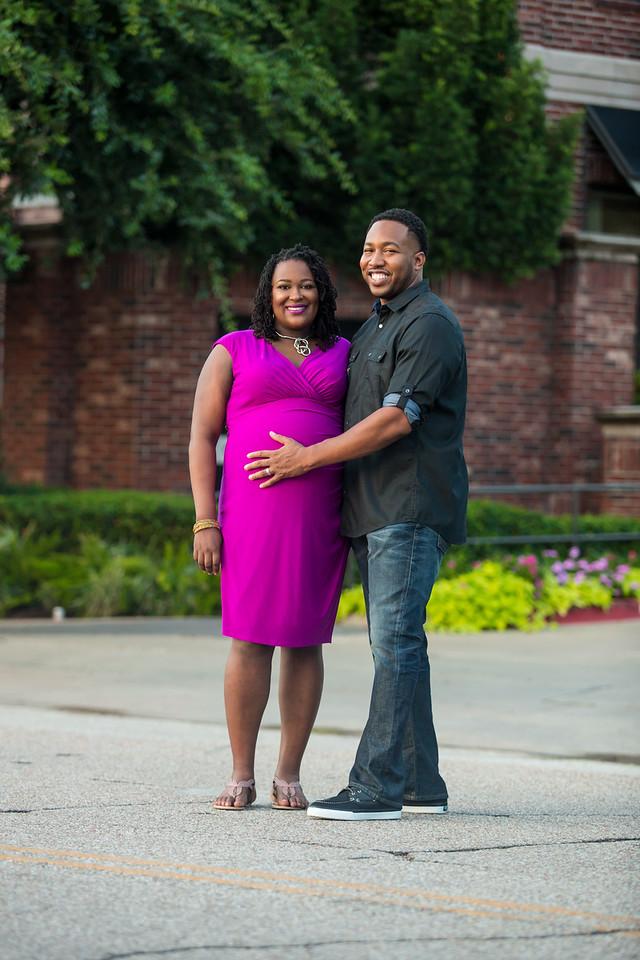 Tiffany + Marcus Maternity
