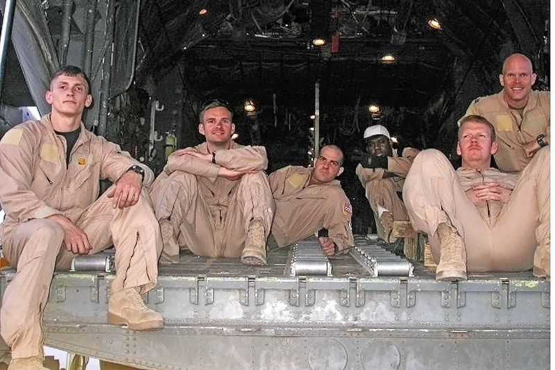 C130 crew in Afghanistan - April 2005