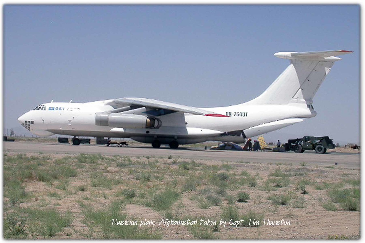 Russian plane, Afghanistan May 2005