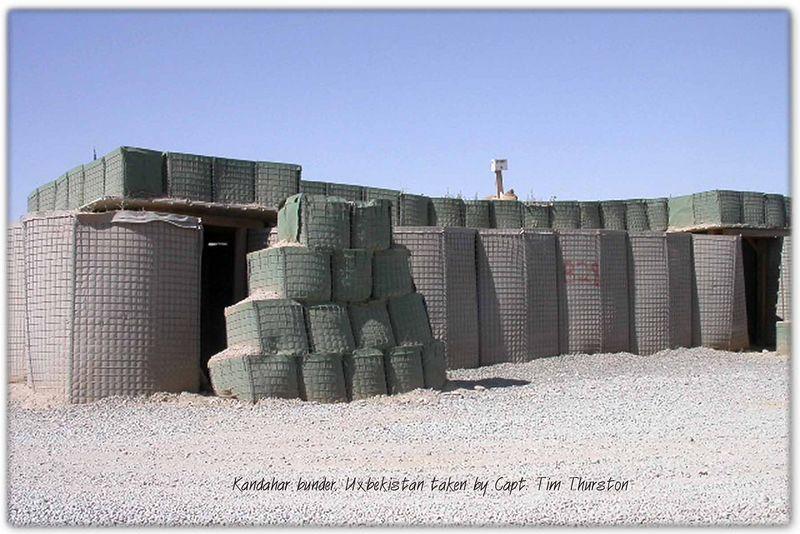 Kandahar bunker May 2005