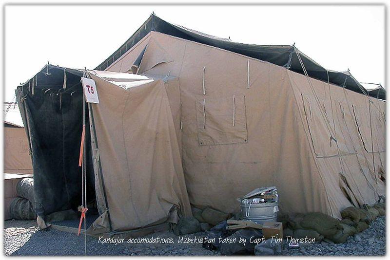 Accomodations for Tim in Kandahar, Uzbekistan May 2005