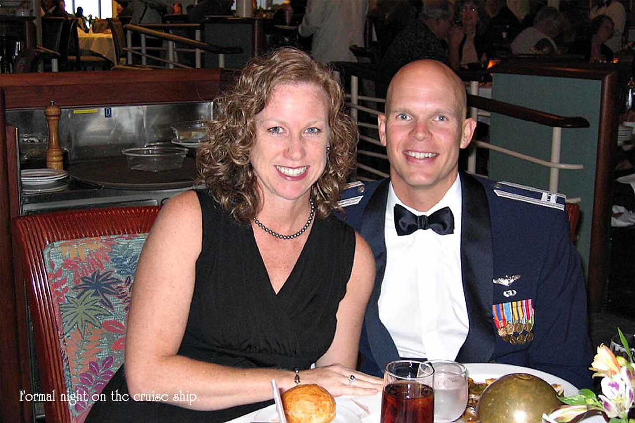 Tim & hurley after Tim's return from Afghanistan - visited Alaska, Tokyo, and also pictures of Tim's Major ceremony