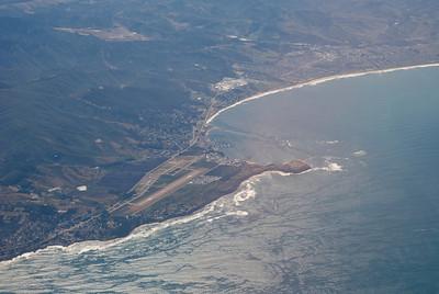 Half Moon Bay Municipal Airport (between SF and Santa Cruz)