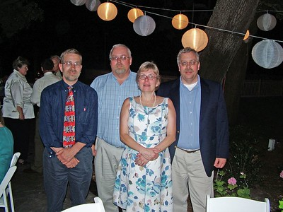 The four siblings - Bruce, Don, Marcia and Ron