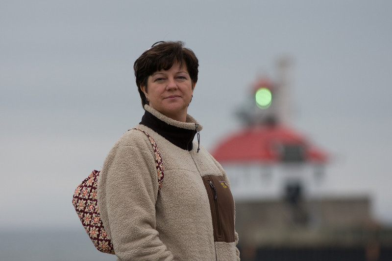 Tina in Duluth Harbor