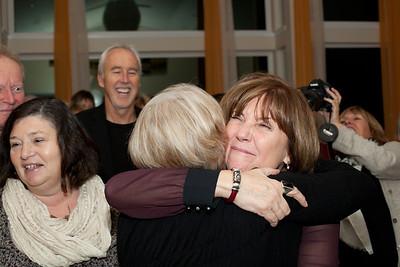 Hugs all around...
