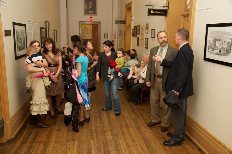 We filled the halls at the Jefferson County Courthouse waiting to see the judge for Emma, Ezra and Samuel's adoption.