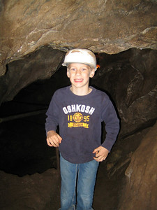 Mark made our excursion even more exciting by announcing that he had lost a tooth in the cave!