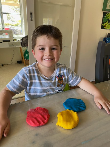 Home made Mum made Play-Doh!