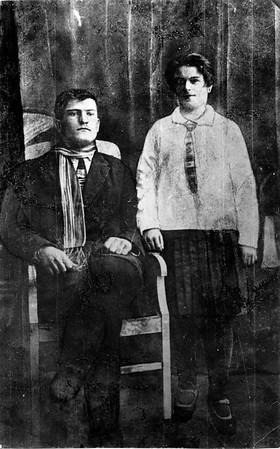 Nikolai and Matrona Todositchuk - Kukawka, Ukraine - about 1930