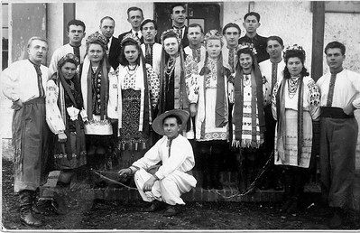 Ukrainien Folk Dance Group - Puerten, Bavaria - 1948