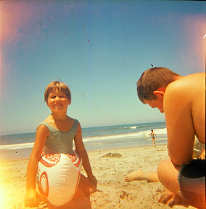 Annette Grant and Max Sullivan - Oceanside, California - 1970