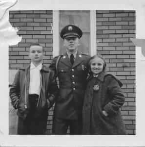Nick , Alex and Olga Bondar - Peru, Indiana - 1958